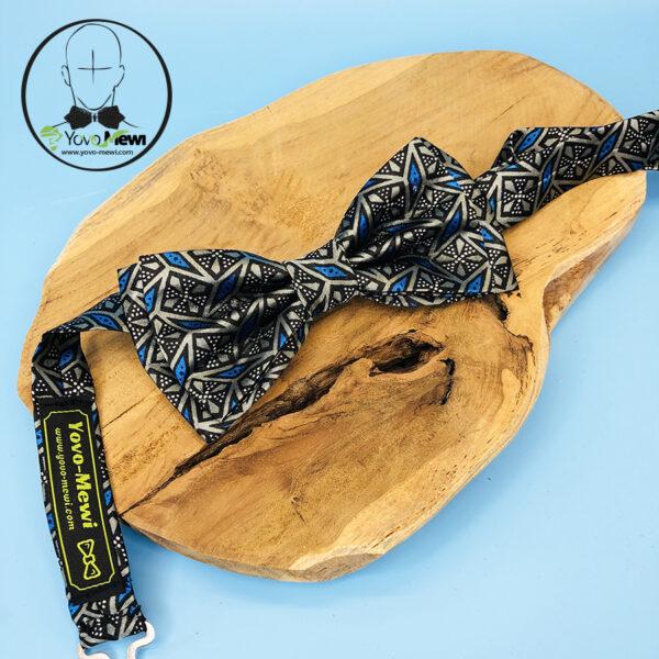 Coffret Nœud papillon  + Pochette de costume+ boutons de manchette n°75