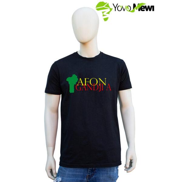 Tee-shirt  Afon gandji a , Bénin ,229