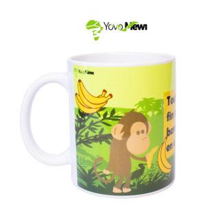 """Mug Impression """"Tout a une fin, sauf la banane qui en a deux"""""""